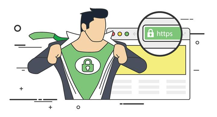 HTTPS varen spletni naslov